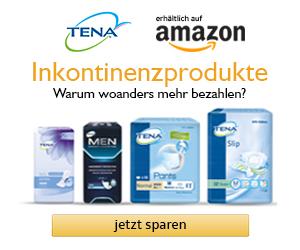 Inkontinenzprodukte bei Amazon kaufen