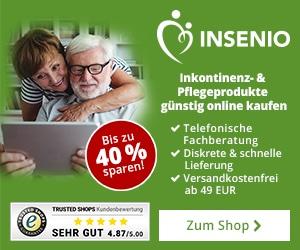 insenio - Inkontinenzprodukte günstig kaufen